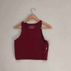 Aeropostale Tops - Aéropostale Bodycon Crop Top
